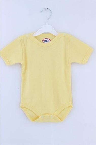 Sema Bebe Momyarım Kol Body Bebek Giyim Ekru
